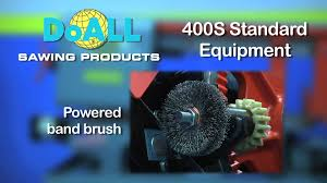 doall 400 s horizontal structural metal cutting band saw youtube
