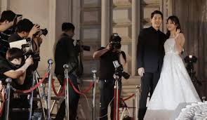 wedding dress song song joong ki song hye kyo wedding park bo gum or kwang soo