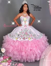 pictures of quinceanera dresses multi color flowers quinceanera dress 10168qm quinceanera mall