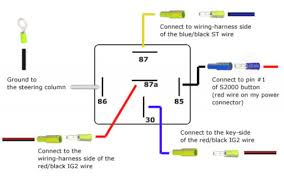5 pin relay oscillator wiring diagram on 5 download wirning diagrams