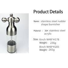 Restaurant Kitchen Faucet Online Shop 304 Stainless Steel Rudder Shaped Tube Mill Pepper