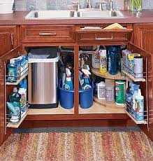 the kitchen sink cabinet organization kitchen storage home diy organization hacks storage