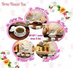 Jasmine Tea Flowers - tea flower tea organic green slimming tea tinned packing chinese