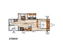 Salem Rv Floor Plans by 2018 Forest River Salem 27dbud Hugo Mn Rvtrader Com