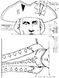 george washington paper bag puppet product from melissas corner on