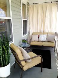 Cloth Patio Covers Patio Decor Outdoor Drop Cloth Curtains With Sheer Bamboo Made