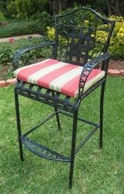 Black Rod Iron Patio Furniture Wrought Iron Patio Bar Stools Foter