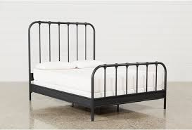 King Metal Headboard Eastern King Metal Panel Bed Living Spaces