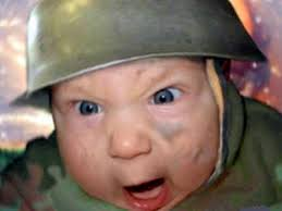 Screaming Baby Meme - meme creator army baby meme generator at memecreator org