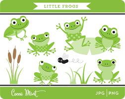 little frogs clip art