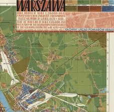 Harvard Map Warsaw 1939 The Harvard Map Collection Presents