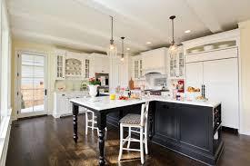 gorgeous black and white kitchen interior black t shaped kitchen