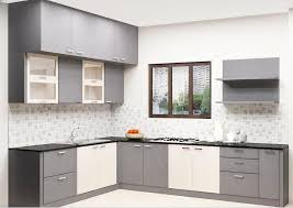 kitchen furniture buy erica l shaped kitchen with laminate finish in india