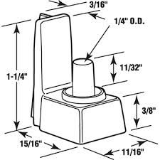 Shower Door Replacement Parts Plastic M 6208d Jpg