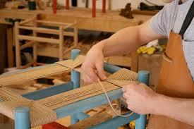 caleb james chairmaker planemaker seat weaving