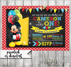 mickey mouse birthday mickey mouse invitation templates 29 free psd vector eps ai