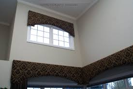 cornice window treatments with drapery panels interior home decor