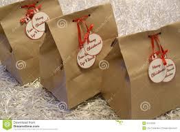 christmas paper bags vintage christmas gift bags stock photography image 30755392