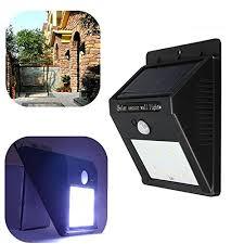 solar powered dusk to dawn light kingso bright outdoor dusk to dawn security led wireless solar