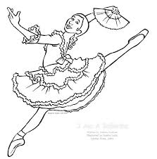 Ballerina Coloring Pages To Print For Printable Colouring Ballerina Printable Coloring Pages