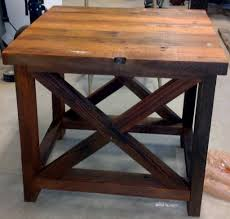 wood end tables the complement for any kind of room elegant
