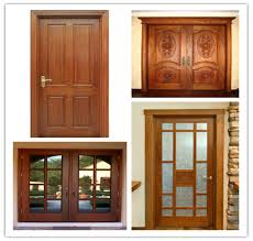 fiber glass exterior double doors design factory competitive price