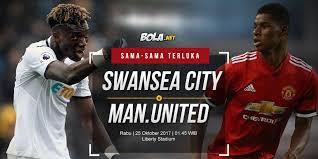 Bola Net Prediksi Swansea City Vs Manchester United 25 Oktober 2017 Bola Net