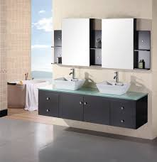 modern menards bath vanity cabinets come with orange varnished