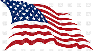 United States American Flag Waving American Stars And Stripes Usa Flag Royalty Free Vector