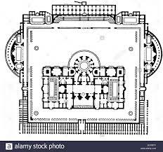 architecture floor plans baths of emperor caracalla in rome