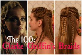celtic warrior hair braids the 100 clarke griffin s braids youtube