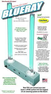 hvac uv light kit blueray germicidal uv light mold uv air purifier