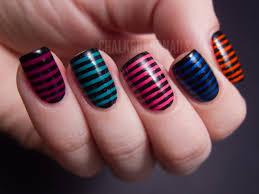 nail art 48 amazing stripe nail art picture design stripes nail