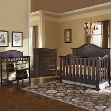Espresso Convertible Crib by Thomasville 3 Piece Nursery Set Southern Dunes Lifestyle Crib