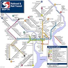 septa map planphilly septa to change regional rail designations