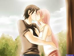 imagenes anime kiss learn how to draw an anime kiss anime people anime draw japanese