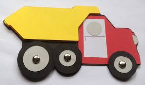 dump truck vehicle craft kit for kids birthday party favor