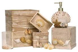 Tropical Bathroom Accessories by Beachcomber Bath Accessories Oceanstyles Com