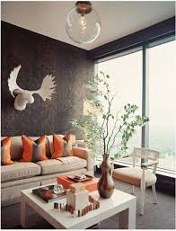 wohnzimmer erdtne 2 dekoideen wohnzimmer orange natrliche farbgestaltung in erdtnen
