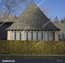 decorating fabulous tudor style architecture idea with white wall