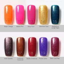 top coat base coat kit bling gel nail polish gorgeous colors uv