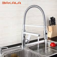 online buy wholesale commercial kitchen faucets from china bakala best modern commercial pull down kitchen sink faucet with shower single lever pull out sprayer