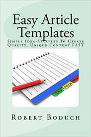 easy article templates article writing success made easy simple