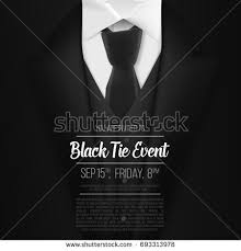 mens suits black friday illustration realistic vector black suit black stock vector