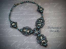 beading necklace images Beading pattern necklace 39 bohemian beauty 39 trinkets beading jpg