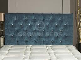 Tartan Chesterfield Sofa by Chesterfield Diamante Button Headboard In 2ft6 3ft 4ft 4ft6 5ft