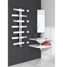 lioni stainless steel heated towel rail designer bathroom modern