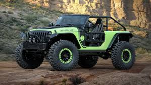 commando jeep hendrick jeep easter safari concepts including hellcat powered trailcat