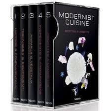 coffret livre de cuisine xl modernist cuisine 6 volumes coffret nathan myhrvold chris