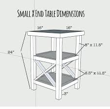 tall black end table u2013 thelt co
